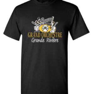 Image du t-shirt noir du GOGR